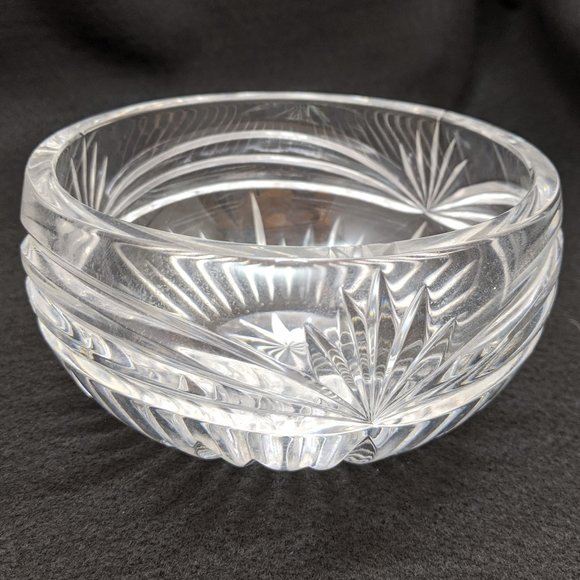 "Marquis Lead Glass Serving Bowl 5.5"" Wide"